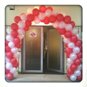 ballonnen voor bruiloft