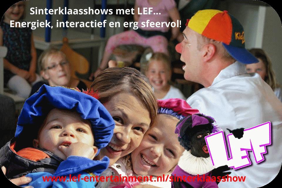 voorprogramma Sinterklaas