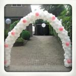 bruiloft ballonnenboog